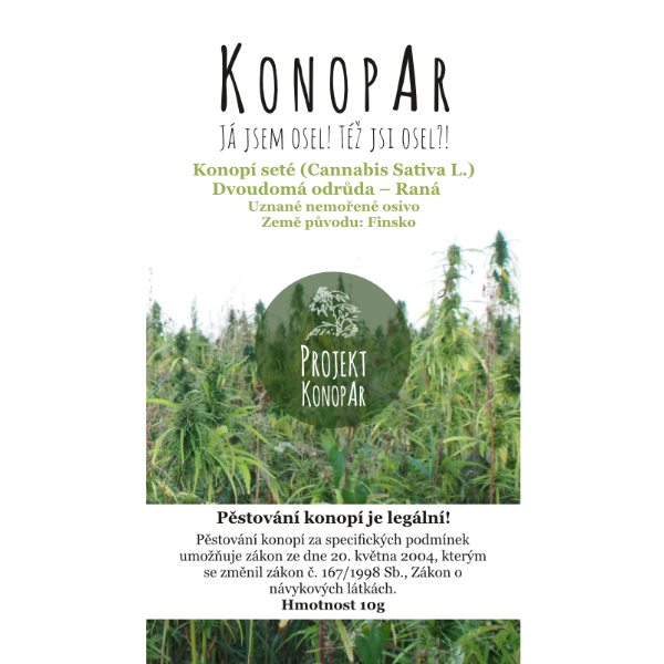 KonopAr Seed Early 10g