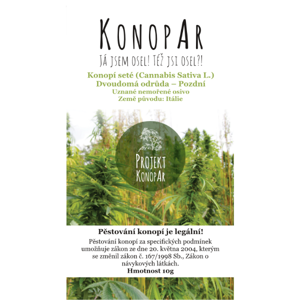 KonopAr Seed Late 10g